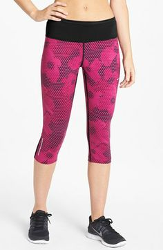 Nike 'Epic Run' Dri-FIT Print Capris | Nordstrom $80With a wide, nonbinding waistband that offers core support, and a flattering below-the-knee length, moisture-wicking Dri-FIT capris are designed to help you look as good at the gym as you feel after you've finished a tough workout.