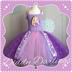 All Sizes Fully Customised. Princess Tutu Dresses, Pink Tutu Dress, Disney Princess Rapunzel, Pink Princess, Halloween Town, Tangled, Dress Making, Pink Purple, Trending Outfits
