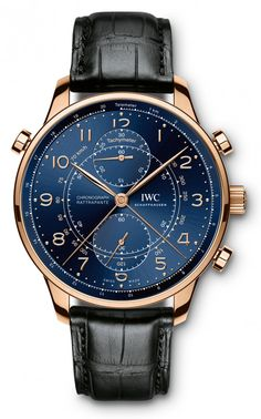 "Portugieser Chronograph Rattrapante for Munich and Paris IWC Portugieser Chronograph Rattrapante Edition ""Boutique Milano"" (Ref. Portugieser Chronograph Rattrapante Edition ""Boutique Milano"" (Ref. Amazing Watches, Beautiful Watches, Cool Watches, Men's Watches, Breitling Watches, Bracelet Cuir, Luxury Watches For Men, Tag Heuer, Men's Accessories"