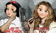 Disney Princesses as 'Orange Is The New Black' Inmates Is a Photoshop Dream Come True — PHOTOS