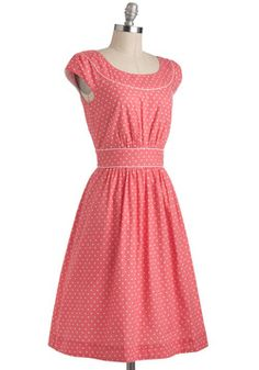 Day after Day Dress in Hearts, #ModCloth~out of season, but too sweet!