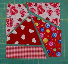 Ms. Elaineous Teaches Sewing: Crazy Quilt Block