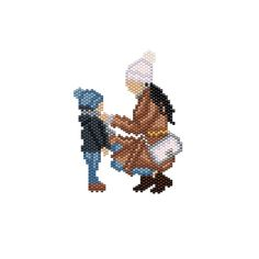 Beading Patterns, Beaded Earrings, Seed Beads, Cross Stitch, Dolls, Brick, Charms, Characters, Passion