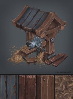 Hello everyone, I just wanted to share with you a personal project that I finished. Wood Cabin, there is no sculpt on this, all handpainted. It took five months to be done in my spare time! Check out the thread on poycount to see more.  I hope you like it!  http://polycount.com/discussion/157149/hand-painted-environment-wood-house#latest