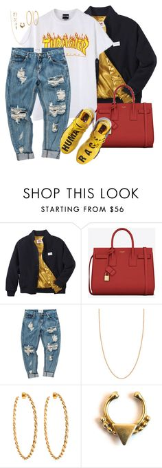 """""""."""" by milean ❤ liked on Polyvore featuring Twins For Peace, Yves Saint Laurent, adidas, Heather Moore, Lisa Stewart, Forever 21 and Charlotte Russe"""