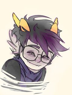 *sniffs* Black Butler just killed my feels but this kawaii Eridan makes it all better :3