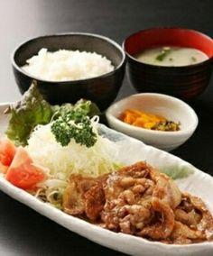 しょうが焼き*Pork fried with ginger