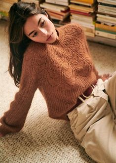 Sézane - Pull Paulin Source by susiAB fall outfits dresses long sleeve Look Fashion, Winter Fashion, Fashion Outfits, Fashion Details, Cute Sweaters, Cable Knit Sweaters, Paris Mode, Mode Inspiration, Mode Style