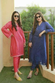 Simple Pakistani Dresses, Pakistani Fashion Casual, Pakistani Dress Design, Pakistani Outfits, Indian Fashion, Stylish Dresses For Girls, Stylish Dress Designs, Simple Dresses, Casual Dresses