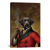 The Red Beret (Dog) Canvas Artwork by Dan Craig Living Room Canvas Painting, Canvas Artwork, Painting Prints, Canvas Wall Art, Canvas Prints, Art Prints, Art Paintings, Wall Art Pictures, 5 D