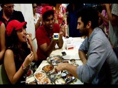 Parineeti Chopra and Aditya Roy Kapoor spotted having food at Cafe Madras hotel.