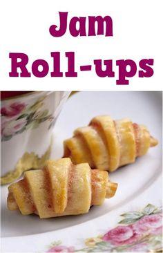 Jam Roll-ups Recipe!