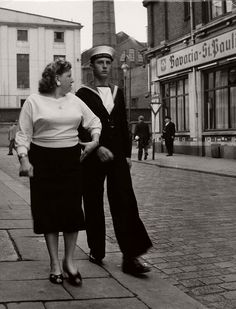 Herbert Dombrowski (1917-2010) was a German photographer. Dombrowski was born in Hamburg in 1917 and began to take pictures as a high-school student. He