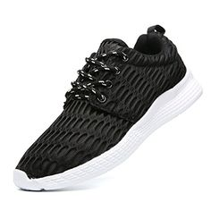0cad3642a9180 great JARLIF Women s Mesh Walking Sneakers - Lightweight Comfortable Sport  Running Shoes US5.5-