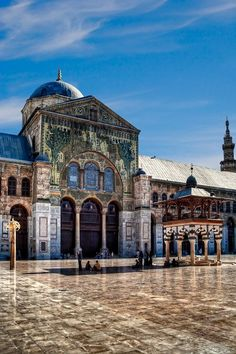 Omayyades Mosque, Damascus, Syria #islamicarchitecture