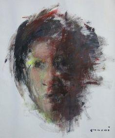 "Saatchi Online Artist Masri Hayssam; Painting, ""Amal"" #art"