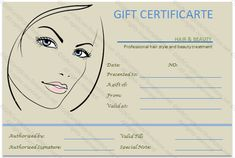 ideas on pinterest gift certificate template gift certificates and