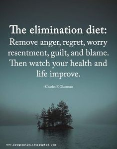 97 Inspirational Quotes That Will Change Your Life - Page 8 of 10 - The Quotes Book The elimination diet: Remove anger, regret, worry resentment, guilt, and blame. Then watch your health and life improve. Words Quotes, Me Quotes, Motivational Quotes, Inspirational Quotes, Sarcastic Quotes, Strong Quotes, Funny Quotes, Positive Mind, Positive Thoughts
