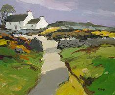 Donald McIntyre - English / Yorkshire (1923 - 2009) White Farm, North Wales