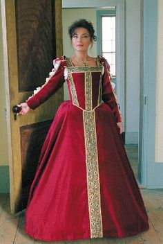 Eleanora of Toledo (Italian Renaissance) Gown: Renaissance Costumes, Medieval Clothing, Madrigal Costumes by The Tudor Shoppe