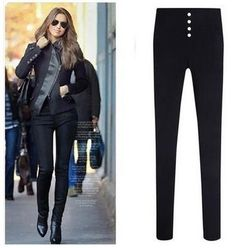$8.46 (Buy here: https://alitems.com/g/1e8d114494ebda23ff8b16525dc3e8/?i=5&ulp=https%3A%2F%2Fwww.aliexpress.com%2Fitem%2F4XL-2016-Hot-Sale-New-Fashion-Euramerican-High-Waist-Elastic-Jeans-Thin-Skinny-Pencil-Pants-Sexy%2F32669052449.html ) 4XL 2016 Hot Sale New Fashion Euramerican High Waist Elastic Jeans Thin Skinny Pencil Pants Sexy Slim Hip Denim Pants For Women for just $8.46