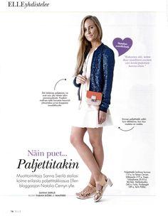 Elle Finland, January 2015 Shoe Image, Finland, January, Coat, Jackets, Shoes, Fashion, Down Jackets, Moda