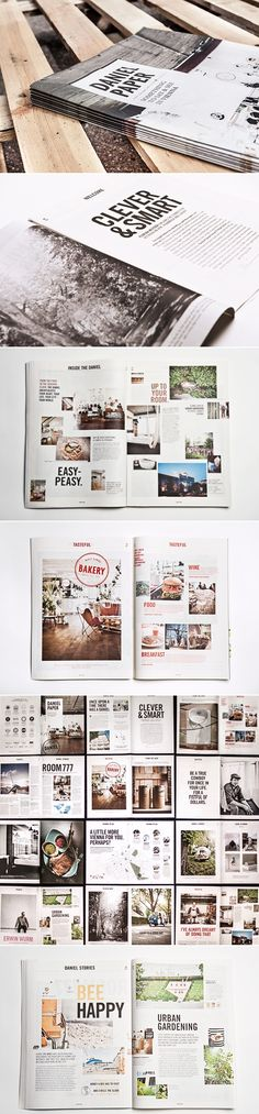 Daniel Paper #layout #design #mag via Behance