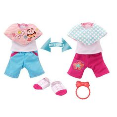 "Baby Alive Cute and Cozy Reversible Outfit - Pants with Cap - Funrise - Toys ""R"" Us"