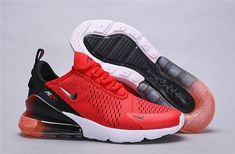 Mens womens winter nike air max 270 sneaker gradient university red black a Nike Air Max For Women, Mens Nike Air, Nike Men, Air Max Sneakers, Sneakers Nike, Nike Shoes Outfits, Air Max 270, Urban, Workout