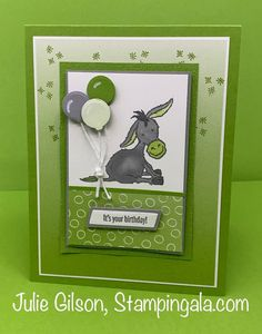 Handmade Birthday Cards, Happy Birthday Cards, Card Making Tutorials, Making Ideas, Fun Fold Cards, Stamping Up Cards, Animal Cards, Pretty Cards, Card Tags