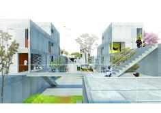Imagem 4 de 8 da galeria de 6º Prêmio Pré-Fabricados para Estudantes - 2° Lugar - Conjunto Habitacional Jardim Novo Marilda / Guilherme Bravin, Livia Baldini, Maria Fernanda Basile, Marcelo Venzon. Vista