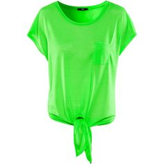 H&M Top ($11) ❤ liked on Polyvore featuring tops, t-shirts, shirts, blusas, green, polyester t shirts, h&m shirts, tee-shirt, green top and h&m tops