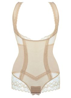 81aa4a27223bc Sheer Mesh Lace Seamless Bodysuit Control Shapewear