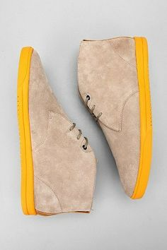 yellow soles . mens shoes