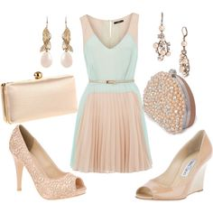 summer romance., created by beckyking on Polyvore...anyone who knows me, knows which shoes I would choose! ;)