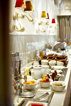 Guten Morgen, guter Tag. Frühstücksbüffet im Waldhotel Stuttgart.