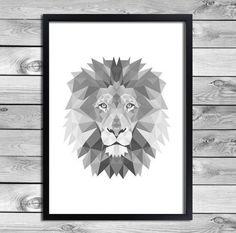 posters black and white animal - Google-haku