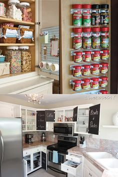Kitchen Organizing Tips & Tricks | Home Organization Tips, check it out at http://youresopretty.com/home-organization-tips-2015/