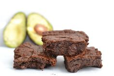 A simple and healthy recipe for avocado brownies replacing butter with heart-healthy fats! Try this for your next party or fun night in with the family!
