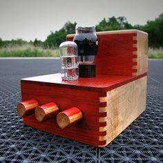 Two Tube Audio Amplifier by Tom Kipgen