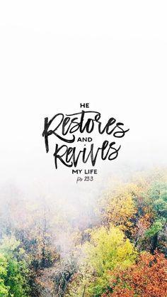 Ps 23:3