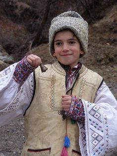 Young Transylvanian boy. Transylvania is a historical region in the central part of Romania. Bounded on the east and south by the Carpathian mountain range, historical Transylvania extended in the west to the Apuseni Mountains.