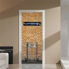 Amazon.com: 3D Wall Sticker Decal Art Decor Vinyl Removable Mural Poster Scene Window Door (Brown): Home & Kitchen
