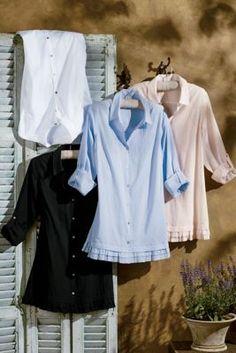 Perfect To Layer Shirt & Cami I - Women's Button-down Shirt, Ruffle Shirt | Soft Surroundings