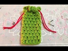 DIY Tutorial - How to Crochet Easy Mobile Cell Phone Pouch Case Cover Holder for iPhone iPod Samsung - YouTube