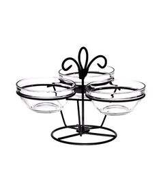 I love this rotating server. Only $17.99 at Zulily. I wish I had a bigger kitchen to store things like this. I really want this and if I had the space I would get it at such a great price
