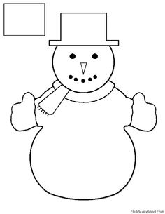 print several copies, then have the child color the hat and mittens one color and name the color they choose, then two different colors you name and so on