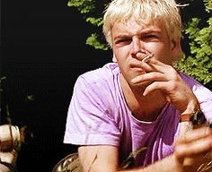 miscgif trainspotting Jonny Lee Miller sick boy i know this isn