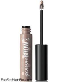 Benefit Cosmetics Gimme Brow fiber gel. #brows #benefit #eyebrows