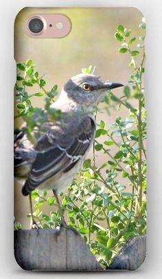 iPhone 7 Case Bird, fence, Nature